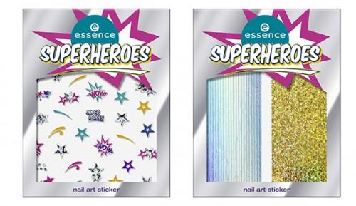 essence Superheroes Nail Art Sticker 01