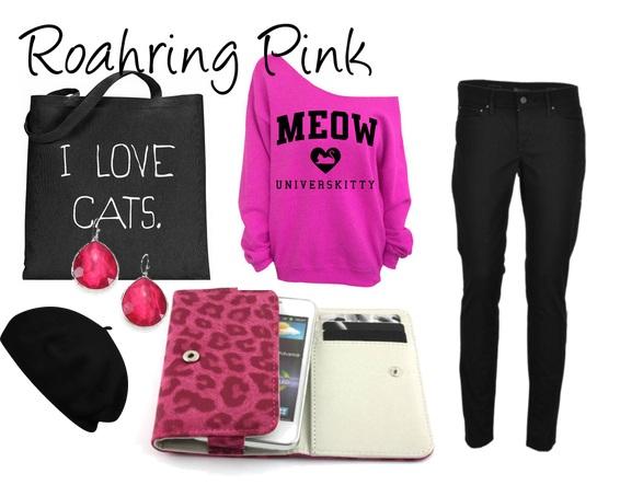 roahring pink