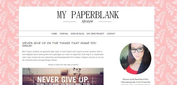 My paperblank