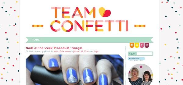 team confetti