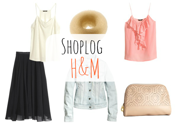 shoplog H&M banner