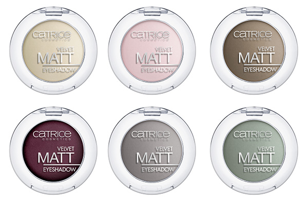 Catr. Velvet Matt Eyeshadow 010