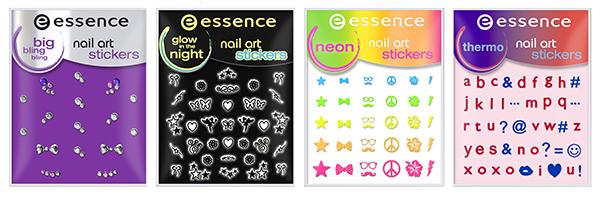 ess. nail art big bling bling stickers