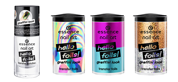 essence nail art hello foils transfer solution