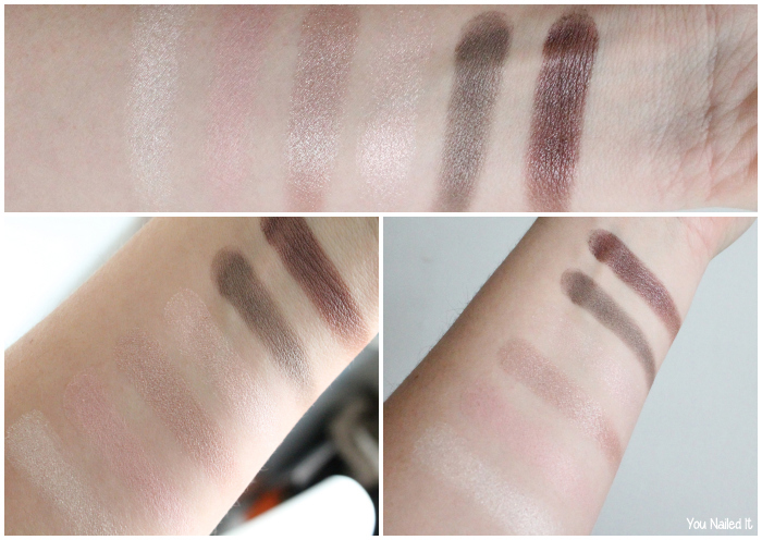 swatches all about nude