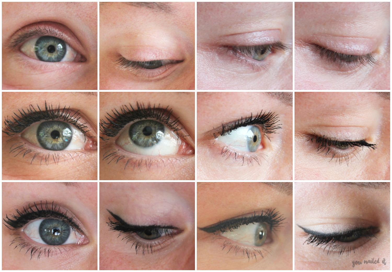 fm mascara + oogpotlood