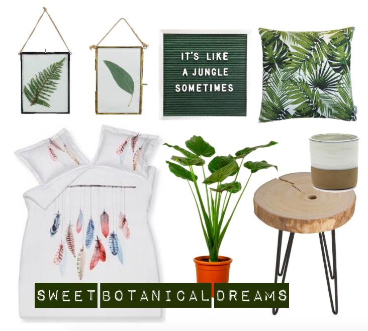 planten slaapkamer inspiratie